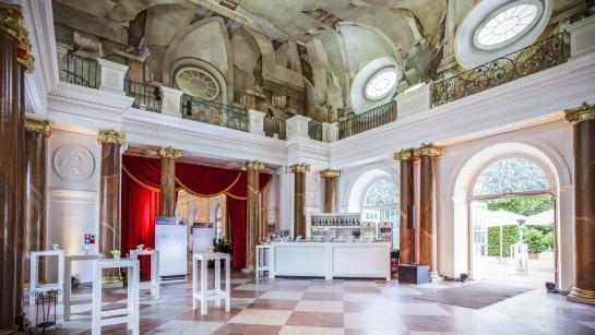 Orangeriesaal in der Großen Orangerie Schloss Charlottenburg – Ort für standesamtliche Trauung