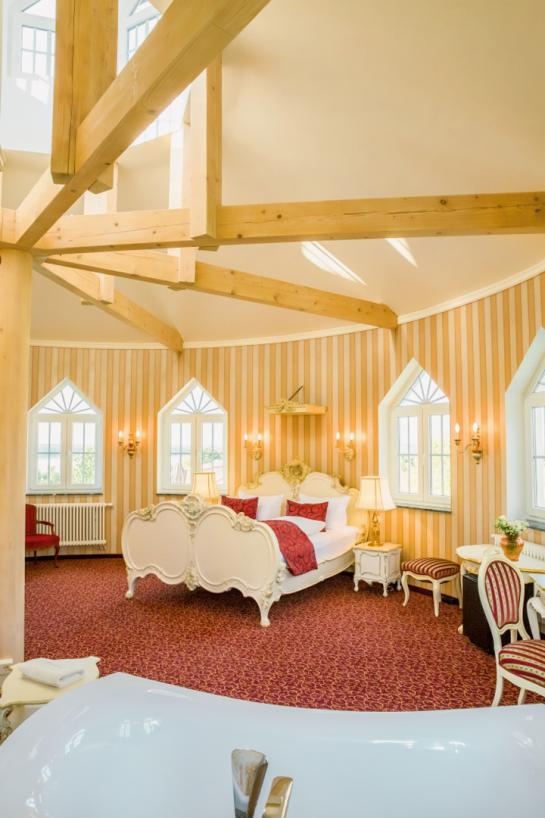 Zimmer in der Hochzeitslocation